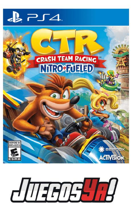 Crash CTR PS4 obsequio llavero