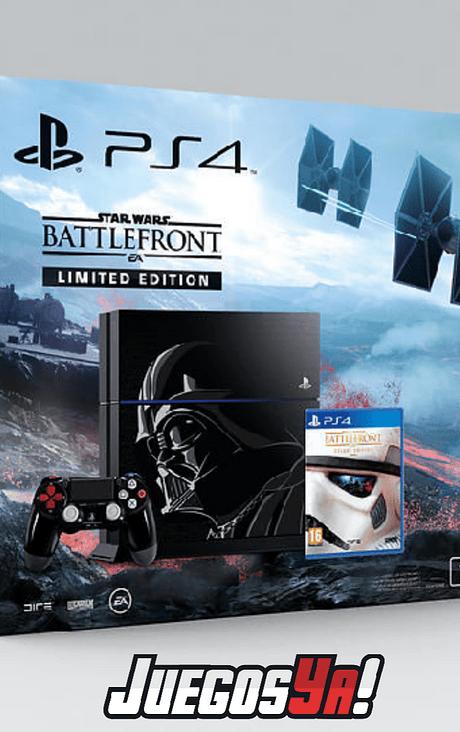PS4 Fat 500GB Ed Star Wars USADA