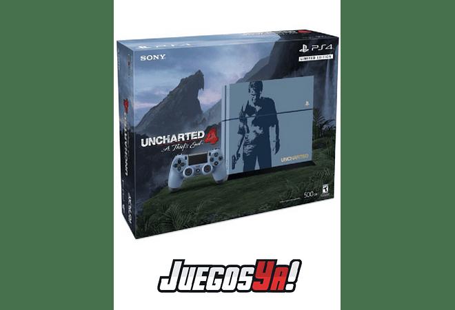 PS4 Fat 500GB Ed Uncharted Nueva