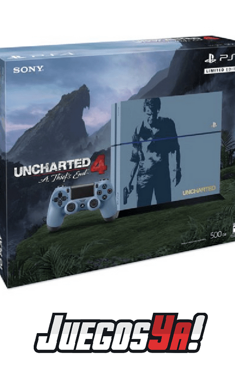 PS4 Fat 500GB Ed Uncharted