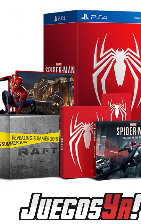 Spiderman Ed Coleccionista PS4