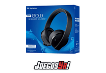 Diadema Gold Inalambrica PS4 Negra