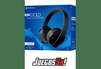 Diadema Gold Inalambrica PS4 Negra