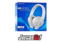 Diadema Gold Inalambrica PS4 Blanca