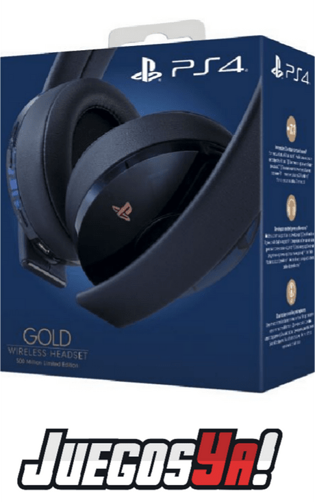 Diadema Gold Inalambrica PS4 Traslucida