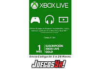 Xbox live Gold + Gamepass 1 mes ultimate