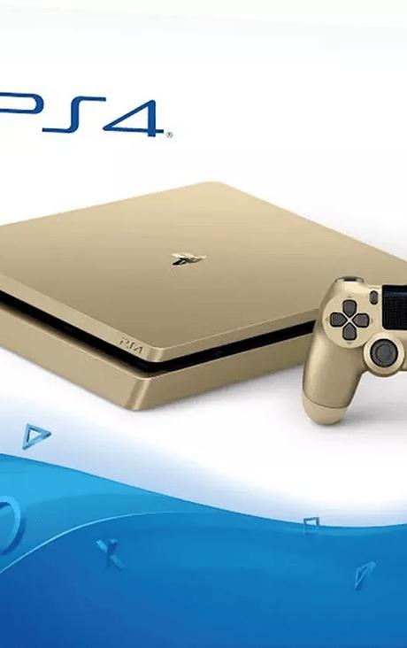 PS4 Slim Dorada 1TB nueva