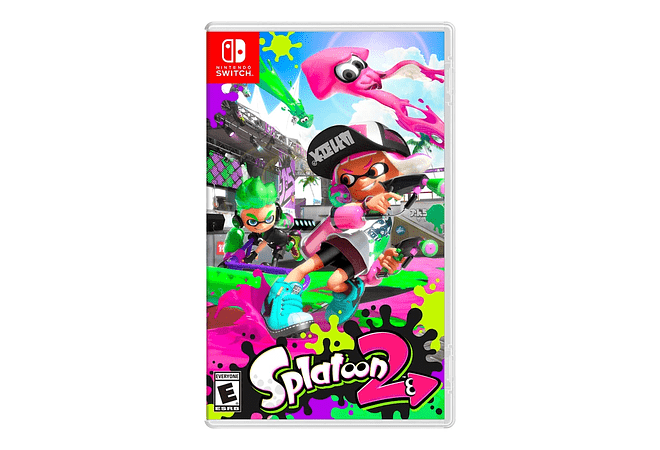 Splatoon Nintendo Switch Nuevo