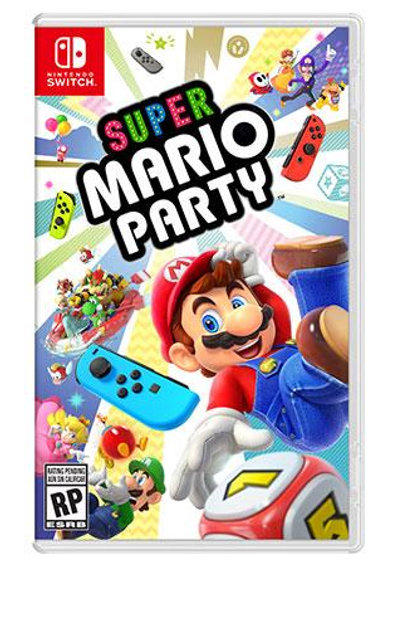 Mario Party nintendo switch nuevo