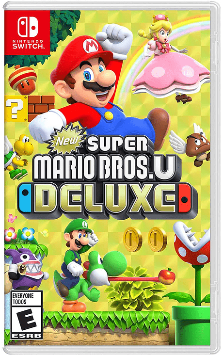 New Super Mario Deluxe Switch Nuevo
