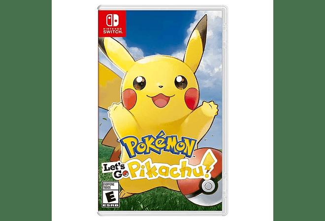 Pokemon Pikachu Nintendo Switch