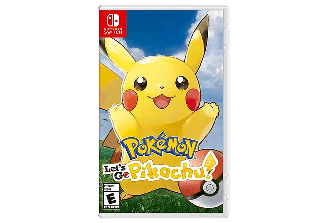Pokemon Pikachu Nintendo Switch