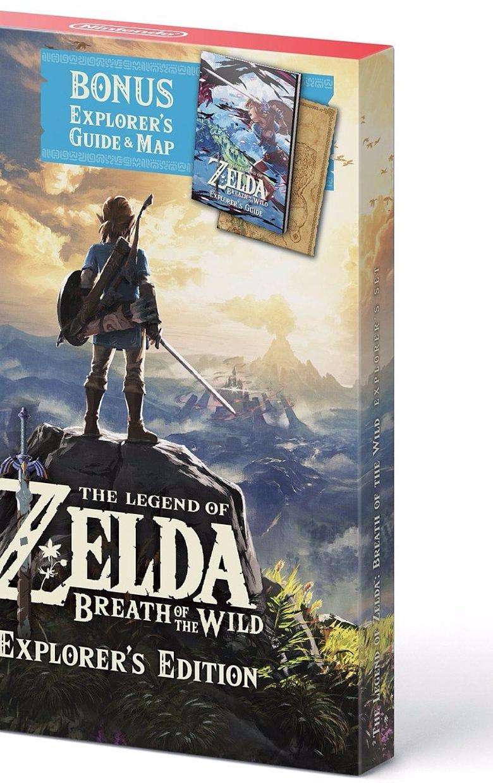 Zelda Nintendo Switch Ed Explorer