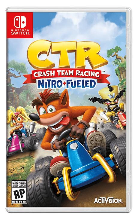 Crash Team Racing Nintendo switch obsequio llavero