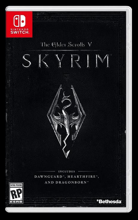 The Elder Skroll Skyrim Nintendo switch nuevo