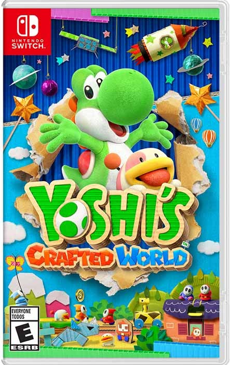 Yoshi's Craft Ed World Nintendo Switch Nuevo
