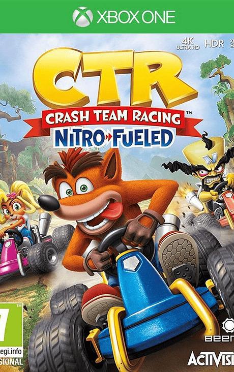 Crash Team Racing Xbox One Nuevo Obsequio llavero