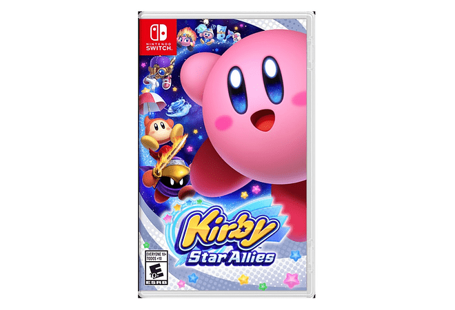 Kirby Star Allies Nintendo Switch nuevo
