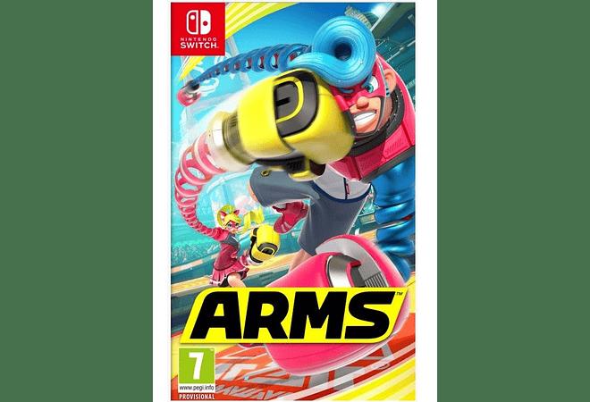Arms Nintendo Switch Nuevo