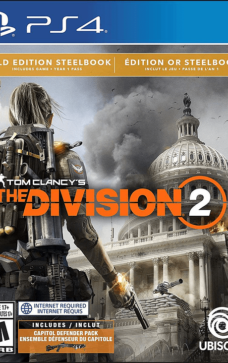 The division 2 Gold Edition Ps4 nuevo