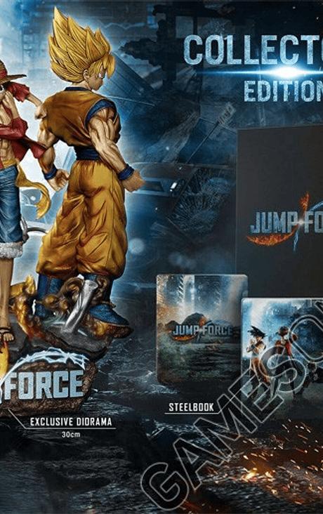Jump Force PS4 Ed Coleccionista Nuevo