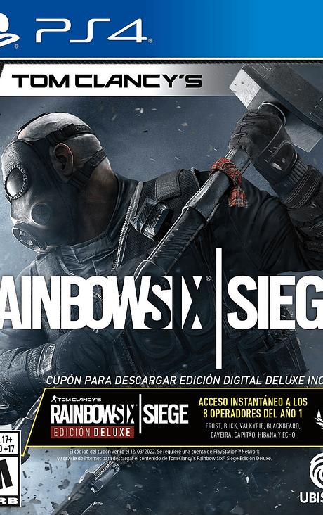 Rainbow Six contenido Deluxe ps4 nuevo
