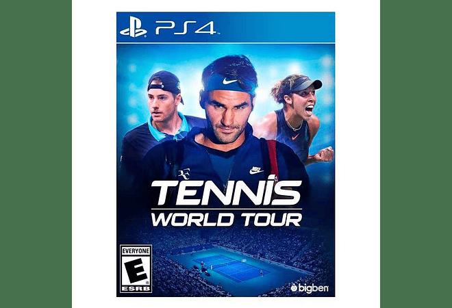 Tennis World Tour ps4 nuevo