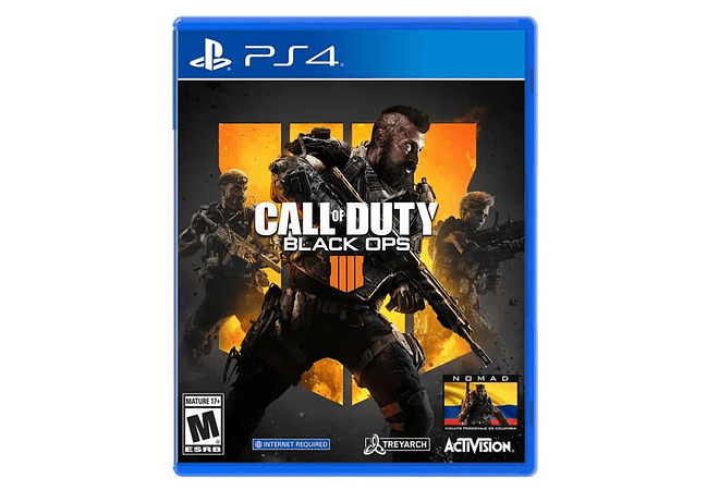 Call of duty Black ops 4 PS4 ingles nuevo