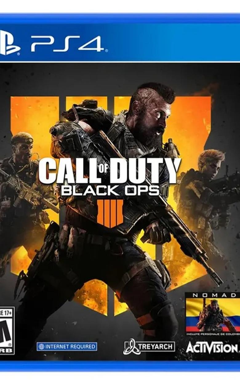 Call of duty Black ops 4 PS4 Español nuevo