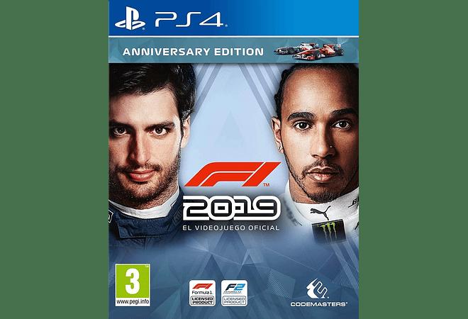 Formula 1  2019 ps4 nuevo