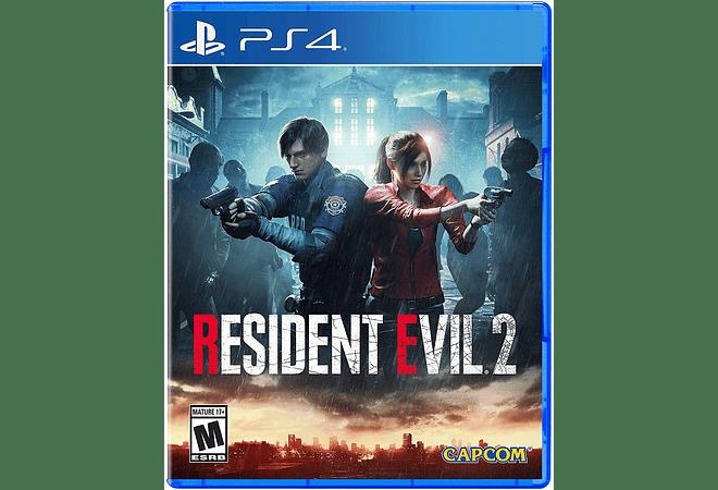 Resident Evil 2 Remake PS4 nuevo