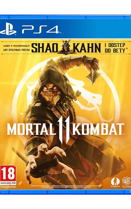 Mortal Kombat 11 PS4 Eu con Shao Kang