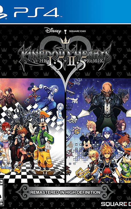 Kingdom Hearts I.5 + II.5 ps4 nuevo