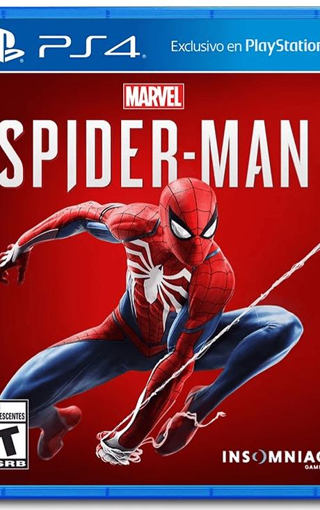 Spiderman PS4 nuevo
