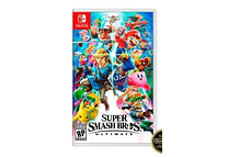 Mario Super Smash Bros Nintendo Switch Nuevo