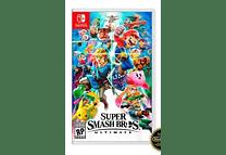 Mario Super Smash Bros Nintendo Switch Nuevo