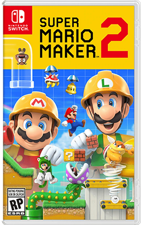 Super Mario Maker 2 Nintendo switch nuevo