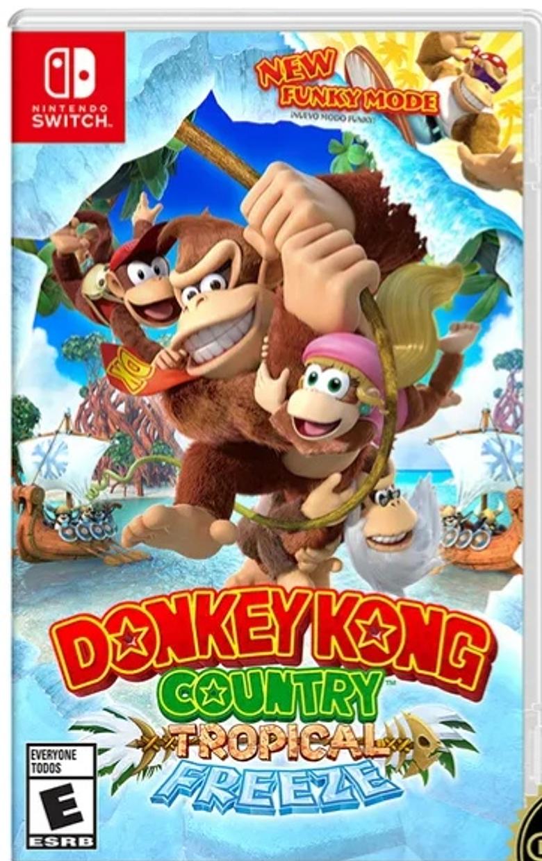 Donkey Kong Switch Nuevo