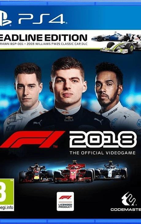 Formula 1  2018 ps4 nuevo