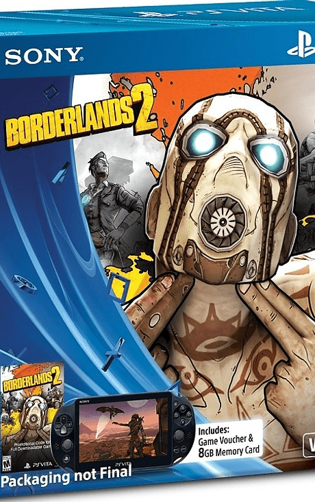 Ps vita Slim Ed Borderlands