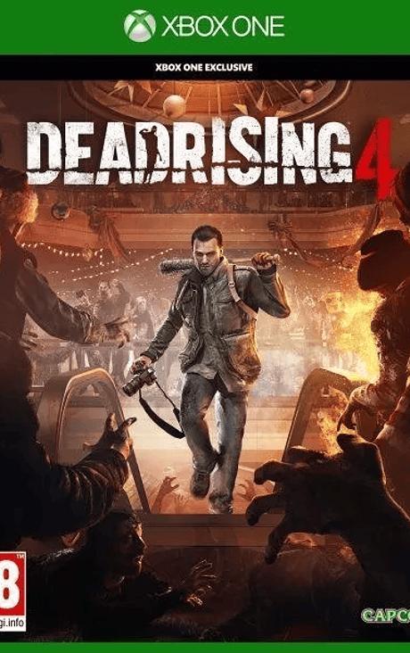 Dead Rising 4 Xbox one nuevo