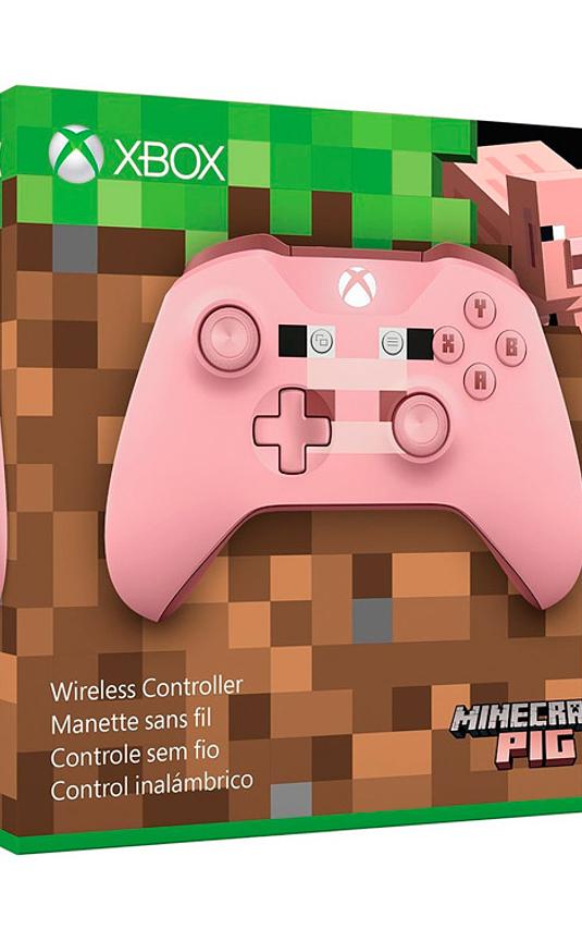 Control xbox one Rosado Minecraft
