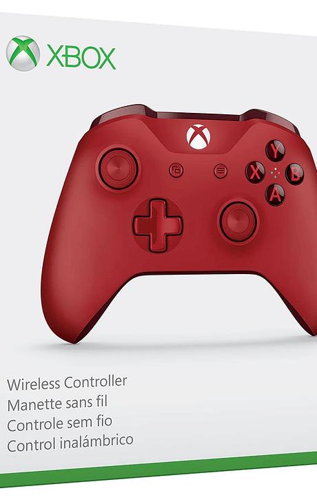 Control xbox one s rojo