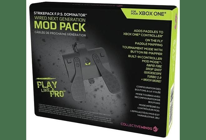 MODPACK FPS DOMINATOR XBOX ONE (Paletas por cable) demora 20 dias
