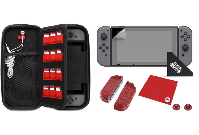 Estuche starter Kit Nintendo Switch - Mario M