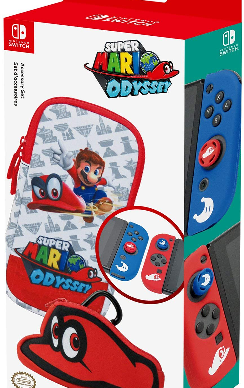 Estuche, Mario Odyssey Funda, Silicona, Nintendo Switch