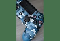 Control Ps4 camuflado Azul original