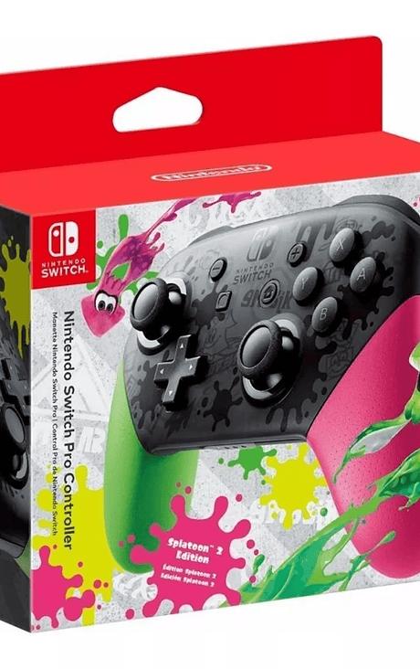 Control Pro Splatoon 2 Nintendo Switch