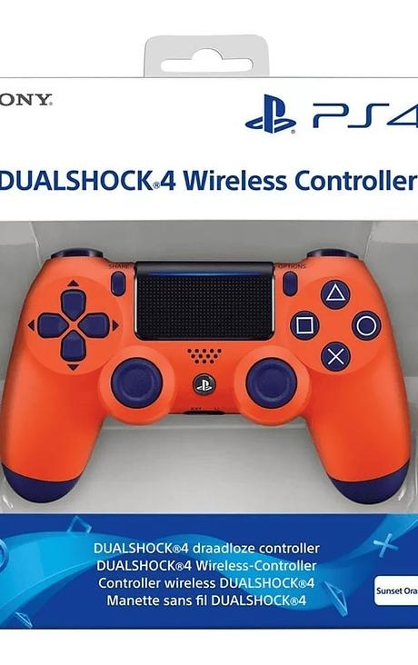 CONTROL NARANJA PS4 V2 USADO