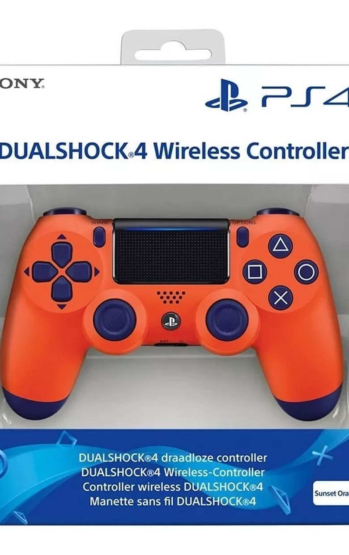CONTROL NARANJA PS4 V2